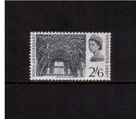 view larger image for SG 688 (1966) - 2/6d Westminster Abbey