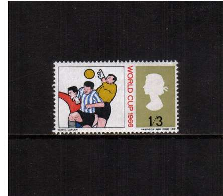 view larger image for SG 695 (1966) - 1/3d World Cup Football