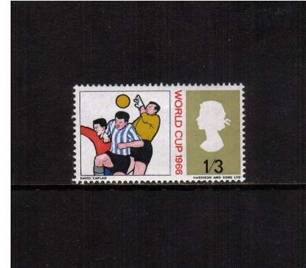 view larger image for SG 695p (1966) - 1/3d World Cup Football