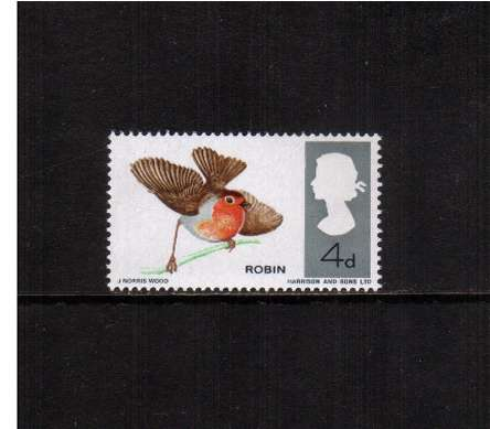view larger image for SG 698 (1966) - 4d British Birds