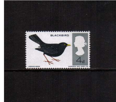 view larger image for SG 699 (1966) - 4d British Birds
