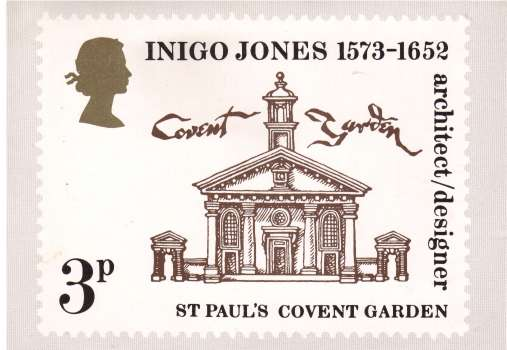 view larger image for PHQ No.2 (1973) - Inigo Jones<br/>Single<br/>Please not that this card was issued oversize<br/>compared to later issues.