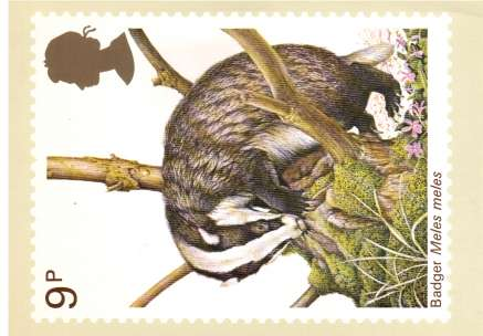 view larger image for PHQ No.25 (1977) - British Wildlife<br/>Set of five
