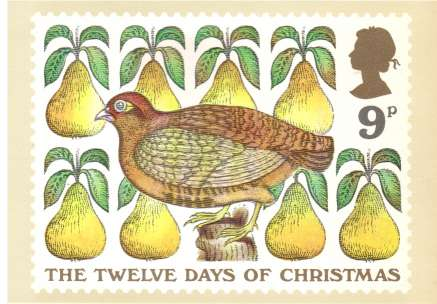 view larger image for PHQ No.26 (1977) - Christmas<br/>Set of six