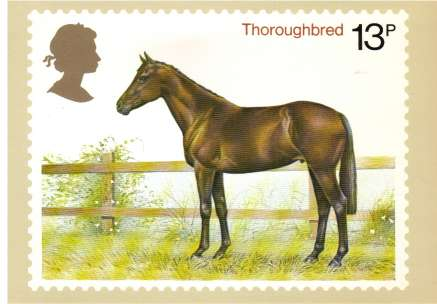 view larger image for PHQ No.30 (1978) - Horses<br/>Set of four