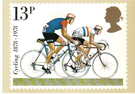 view larger image for PHQ No.31 (1978) - British Cycling<br/>Set of four cards