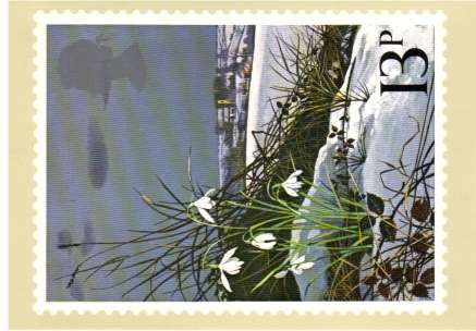 view larger image for PHQ No.34 (1979) - Spring Wild Flowers<br/>Set of four