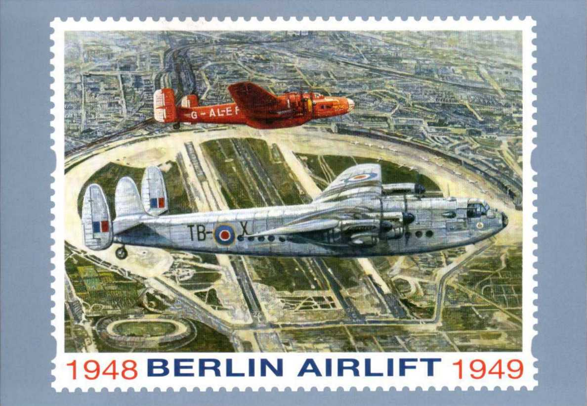 view larger image for PHQ No.D14 (1999) - Berlin Airlift label single card