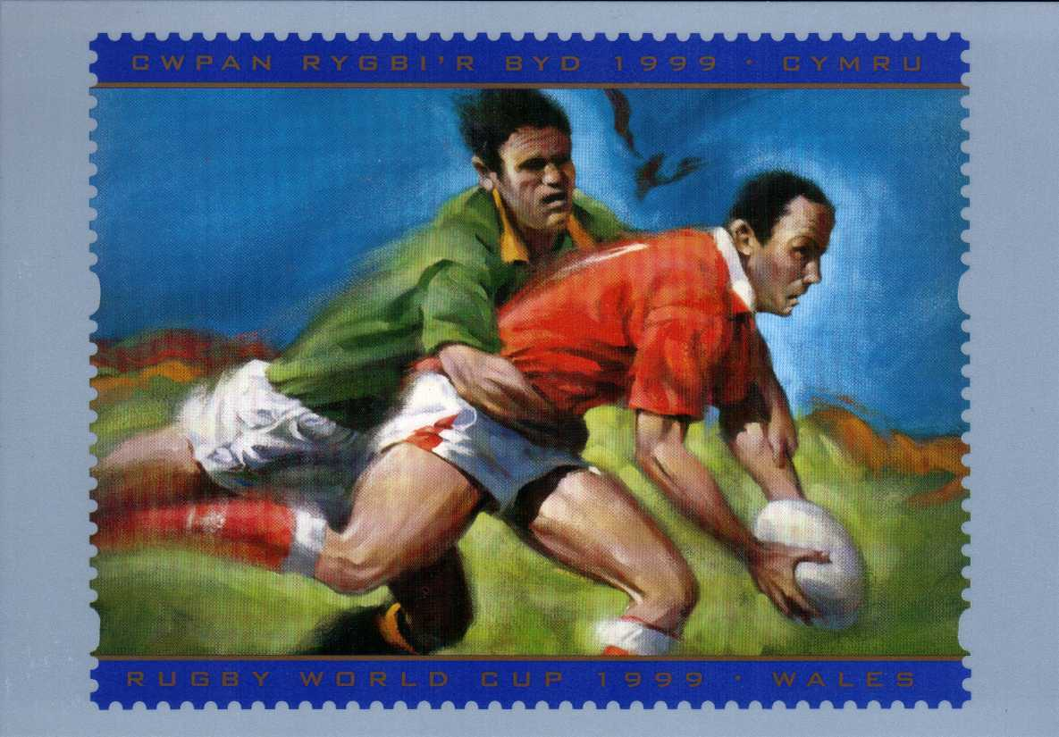 view larger image for PHQ No.D15 (1999) - Rugby label single card