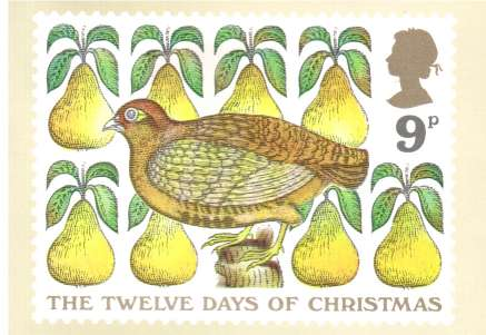 view larger image for PHQ No.26B (1977) - Christmas set of six cards<br/>