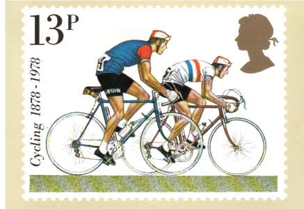 view larger image for PHQ No.31B (1978) - Cycling set of four cards<br/>