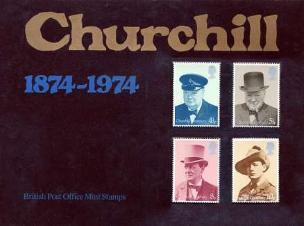 Stamp Image: view larger back view image for Sir Winston Churchill<br/>Large Format Souvenir 'Bubble' Pack