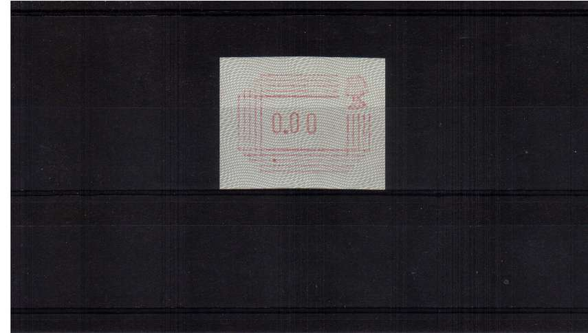 view larger image for  (1984) - The impossible ''0.00'' error of value superb unmounted mint.