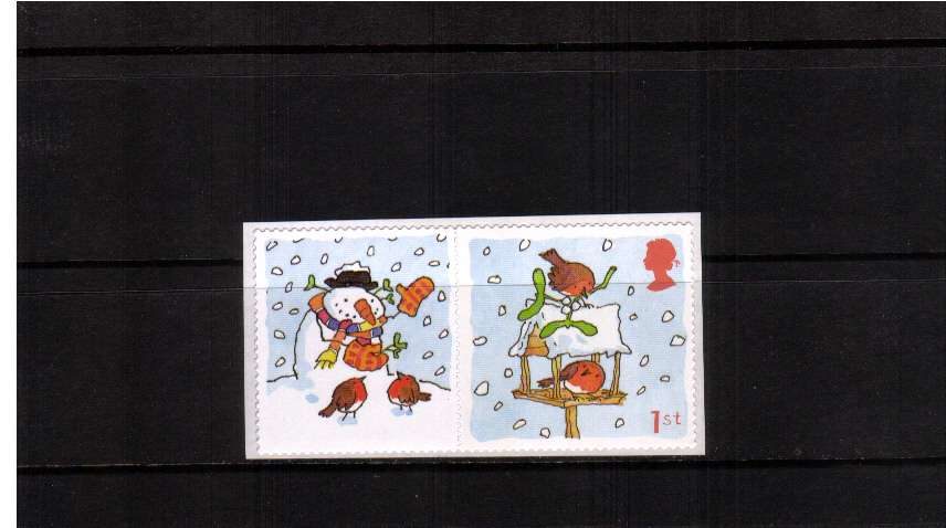 view larger image for SG LS14set (2003) - Christmas 2003 - Winter Robins single