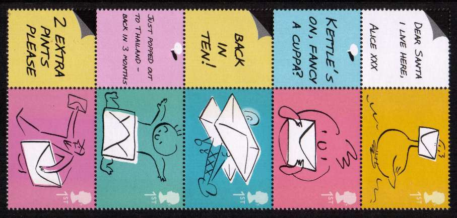 view larger image for SG LS18strip (2004) - Occasions vertical strip of five