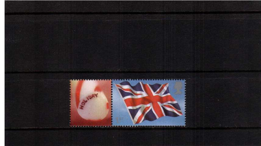 view larger image for SG LS20set (2004) - ''Rule Britannia'' Flag single