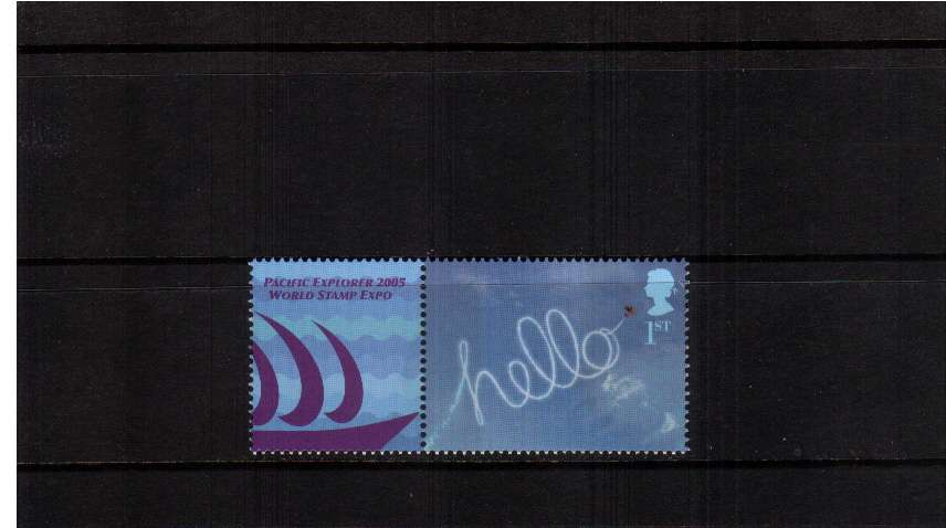 view larger image for SG LS24set (2005) - Pacific Explorer World Stamp Expo single