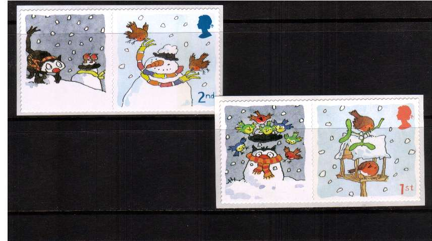 view larger image for SG LS27set (2005) - Christmas 2005 !st and 2nd Class set of two