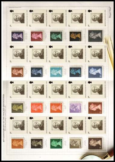 view larger image for SG LS40 (2010) - 40th Anniversary of The Machin Definitives