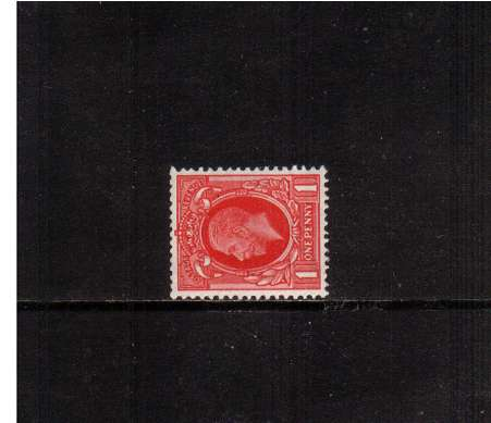 view larger image for SG 440c (1934) - 1d Scarlet with WATERMARK SIDEWAYS