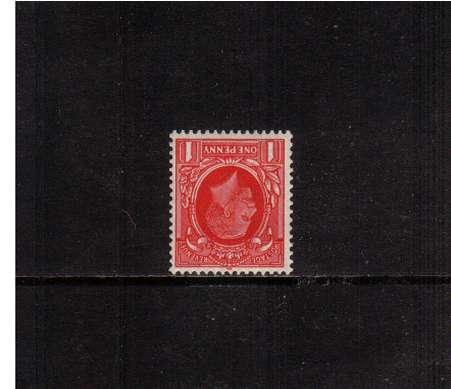 view larger image for SG 440Wi (1934) - 1d Scarlet with WATERMARK INVERTED